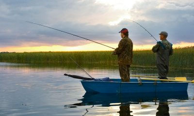 Ловля в проводку с лодки